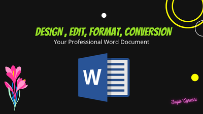 I will create Ms Word document