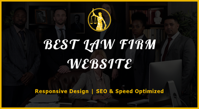 Build a professional Lawyer, Attorney or Law Firm Website