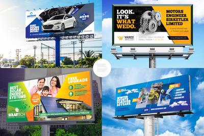 Design professional Roller Banner / billboard / singage