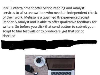 Read your script and provide feedback