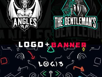 Desing Gaming Logo And Banner