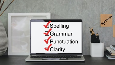 Proofread up to  2,000 words in Spanish