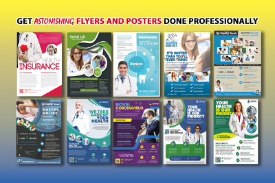 Design a medical or dental or a pharmacy/health care flyer