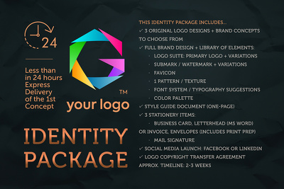Logo Design & Identity Package