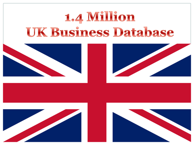 Provide 1 Million UK Business Database
