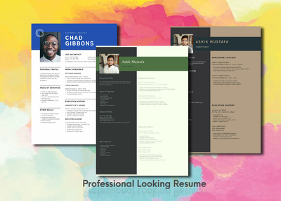 Design a Professional and Awesome Resume for you