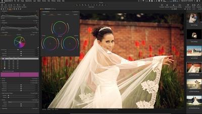 do professional wedding photo editing