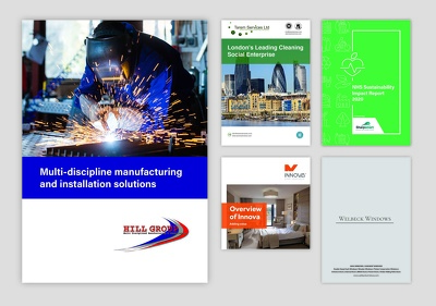 Design Brochures, Flyers, Icons, Infographics, Business Cards
