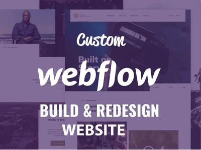Design customize and create modern, professional webflow website