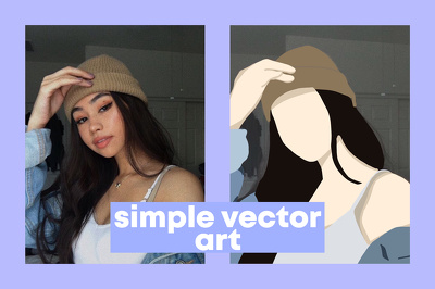 Make your photo into simple vector art