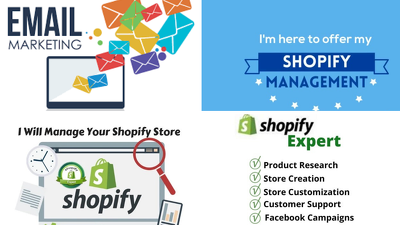 Be your Shopify Store Manager