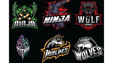 I will design kickass mascot for esports, gaming and sports logo