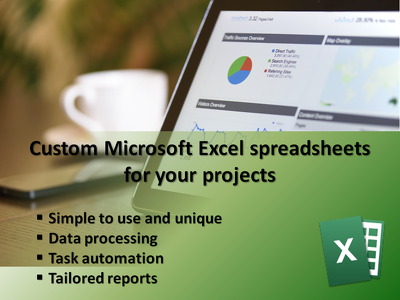 Build a custom Microsoft Excel spreadsheet for your project