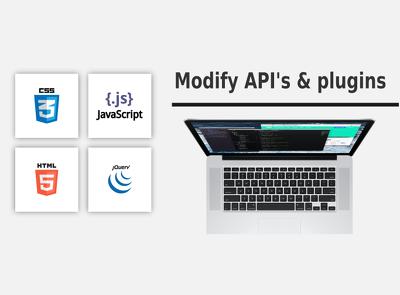 Modify javascript plugins