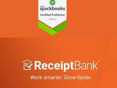 Record 40 transactions to your Quickbooks using Receipt Bank