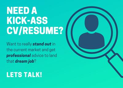 Design and edit an eye catching, modern CV or resume