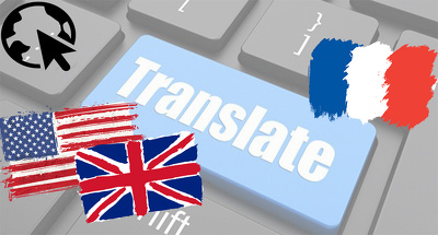 Translate your new blog article or web content into French