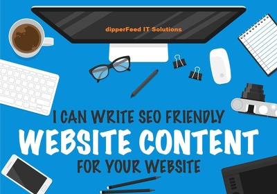 Write 3000 word SEO friendly Content for your Business Website