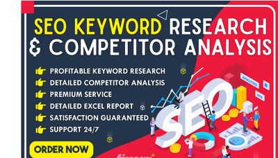 Profitable SEO keyword research and competitor analysis
