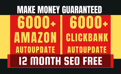 Create Amazon Affiliate and Clickbank Affiliate Website