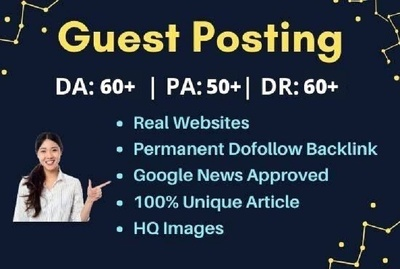 guest Post on 5 Top Google News Approved News Websites DA 60+