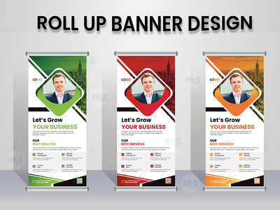 Design your roll up banner, pull up banner,retractable banner