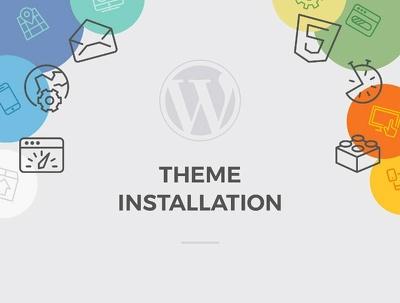 Do WordPress Theme Setup with Demo