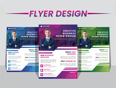 Do your professional business flyer design