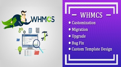 Install whmcs and customization or upgrade, issues also