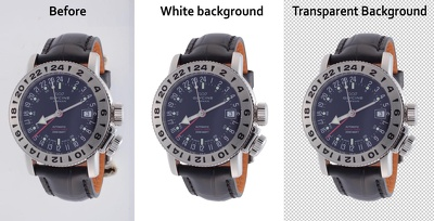 White/Transparent Background & Basic Retouch 60-100 images