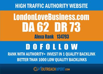 Post on Londonlovesbusiness --londonlovesbusiness.com -- DR 72