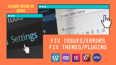 You will get your WordPress issues, errors or problems fixed
