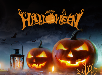 Design 1 Halloween Theme social media post