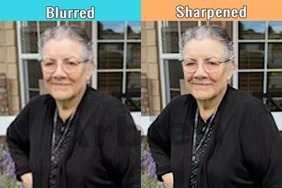 Sharpen 5 images