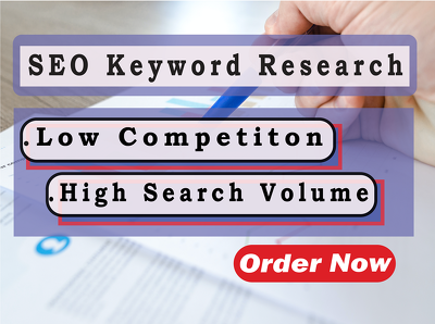 Do detailed SEO Keyword Research and create SEO content Strategy