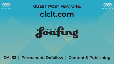 Write & publish a guest post on CLCTL (DA 62, dofollow)