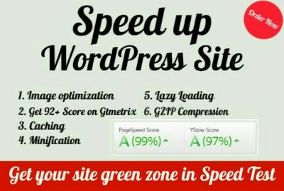 Speed up & optimize your wordpress site