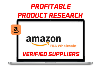 I will find and source profitable amazon fba wholesale products