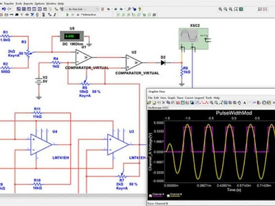 Do any circuit simulation on  Multisim or proteus
