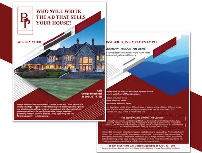Design unique Leaflet/Brochure/Flyer.