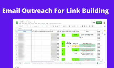 Be your Email Outreach Expert