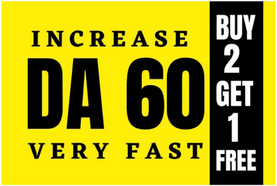 I will increase domain authority of your site da 40 plus
