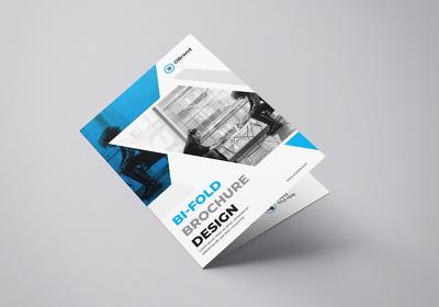 Design a bifold brochure