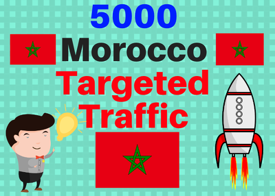 Provide You 5000 Morocco Country Targeted Traffic