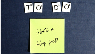 Write a quality  500-word blog post