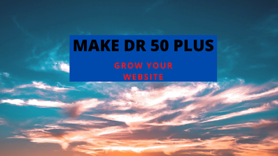 Dr 50 plus in ahrefs in 30 days