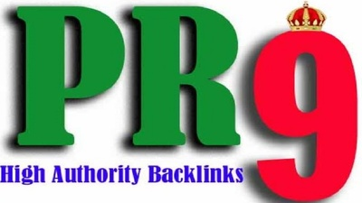 Do 100 pr5 to pr9 seo backlinks for google search rankings