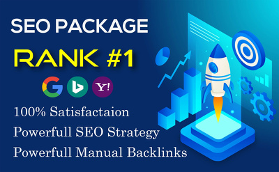 Build high quality dofollow SEO backlinks link building Rank #1