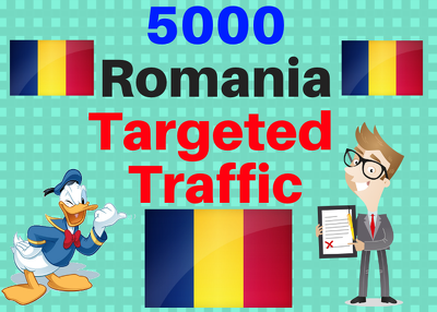 Provide You 5000 Romania Country Targeted Traffic