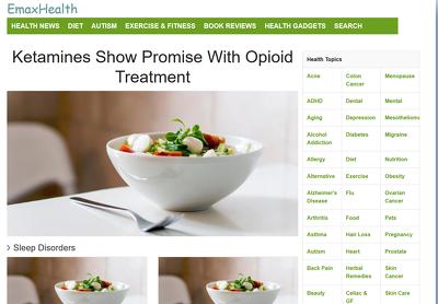 Guest post on eMaxhealth.com Health website DA62